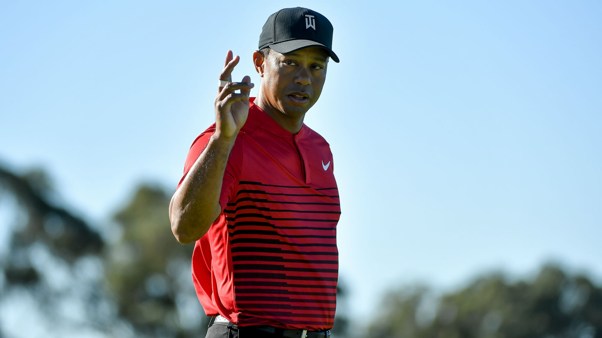 It was gross - Tiger Woods reflects on wild driving display