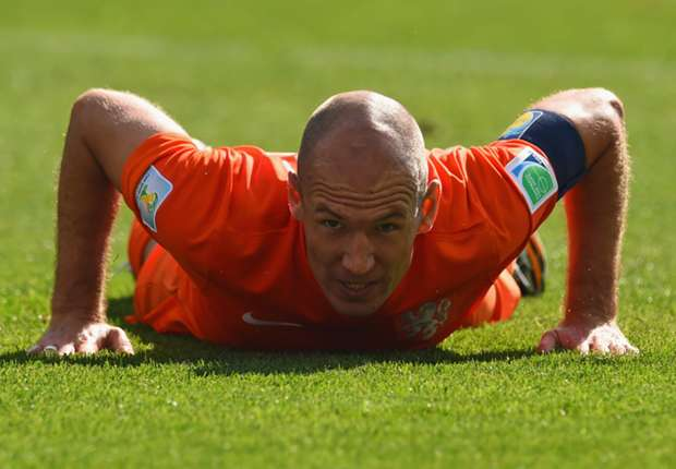 Robben: Netherlands are not dependent on me