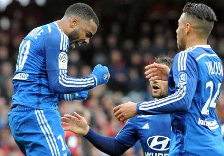 Lyon returns to Ligue 1 summit