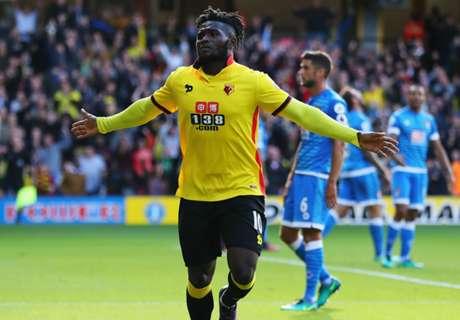 Success scores first Premier League goal