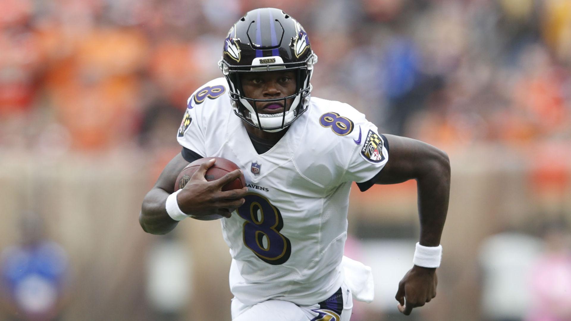 Ravens QB Jackson returns after concussion evaluation