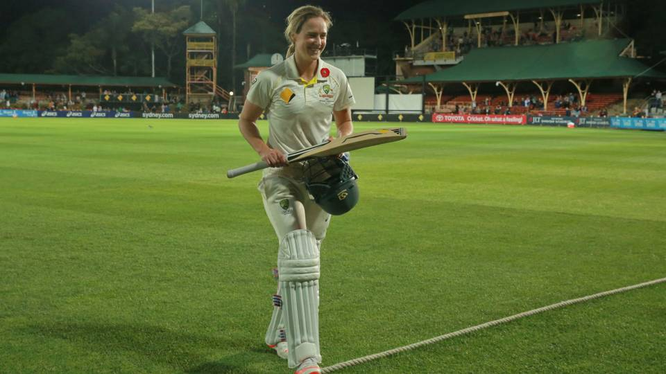 Ellyse Perry Revels In Record Breaking Ashes Heroics