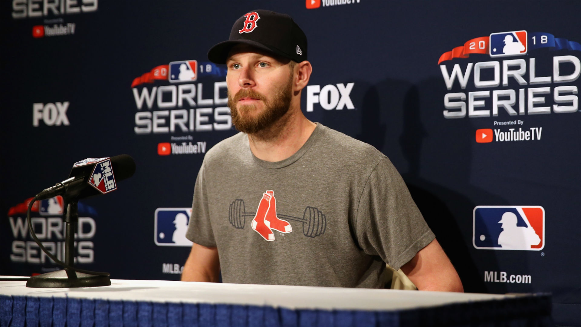 World Series 2018: Chris Sale delivers fiery speech in Game 4 to spark Red Sox rally