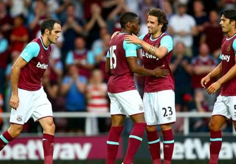 West Ham 3-0 Lusitans: Sakho brace
