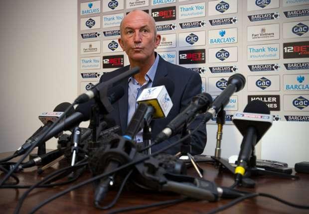 Crystal Palace manager Tony Pulis.