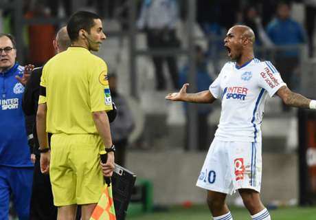 Ayew: Refs treat Marseille unfairly