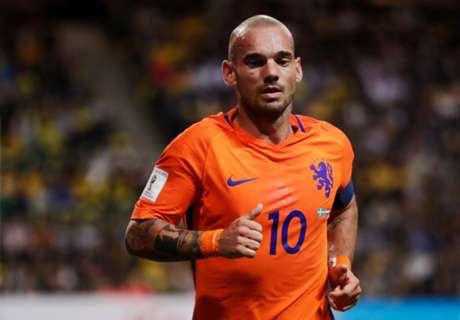 Sneijder revels in Netherlands record