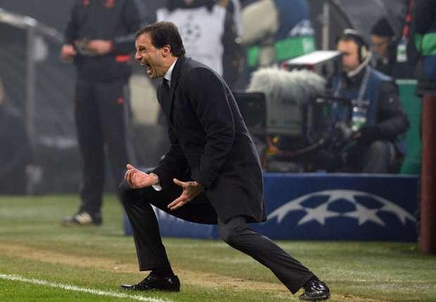 Allegri relieved with Milan progress