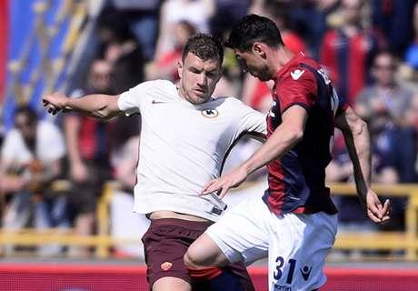 Dzeko keeps Juve in Roma's sight