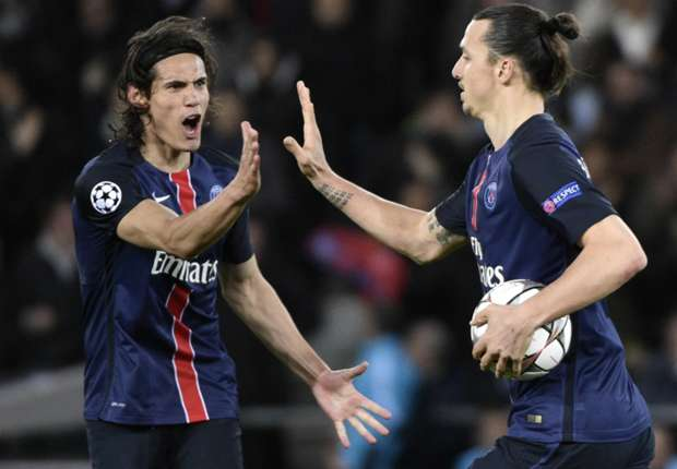 Cavani not feeling the pressure of replacing Ibrahimovic at PSG