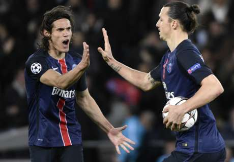 Cavani: No pressure replacing Ibra