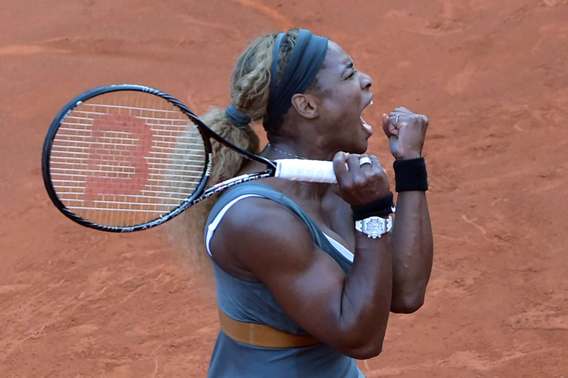Serana Williams and Sara Errani to contest Rome final