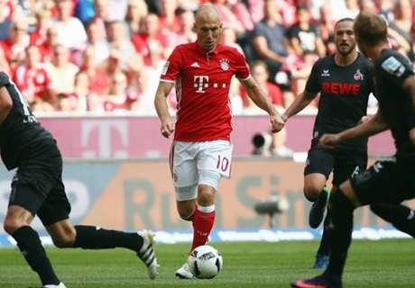 Robben injury 'nothing serious'