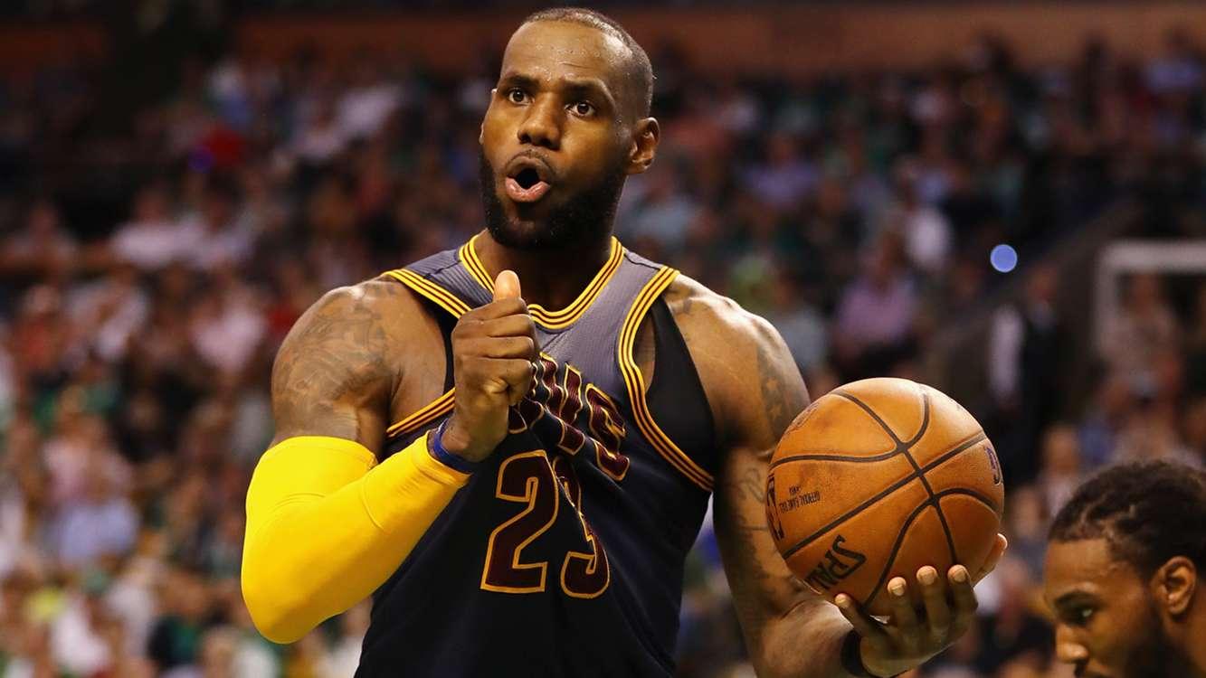 LeBron, Love lead Cavs past Celtics