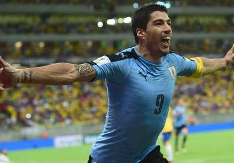 Suarez headlines Uruguay squad