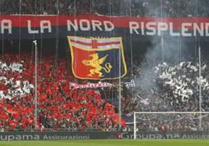 The fans of Serie A club Genoa