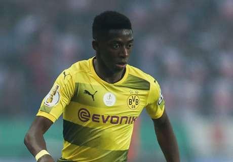 Dortmund: No Dembele negotiations