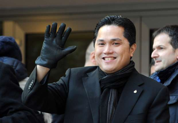 Thohir returns to Milan for Inter transfer business