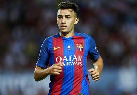 Roma re-enter race for Barca forward Munir