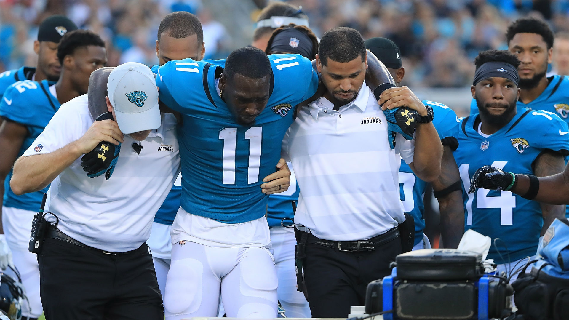 Marqise Lee injury update: Jaguars WR suffers 'serious ...