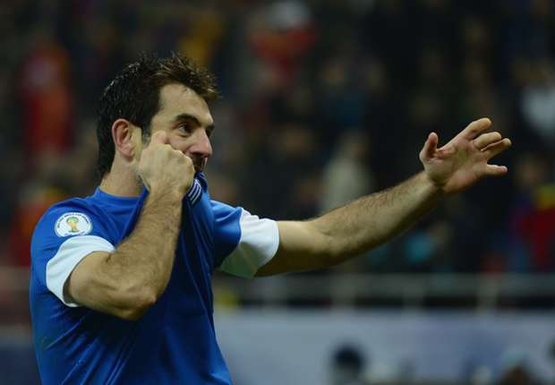 Karagounis retires from international football