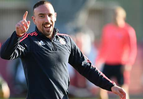 Ribery back in full Bayern training