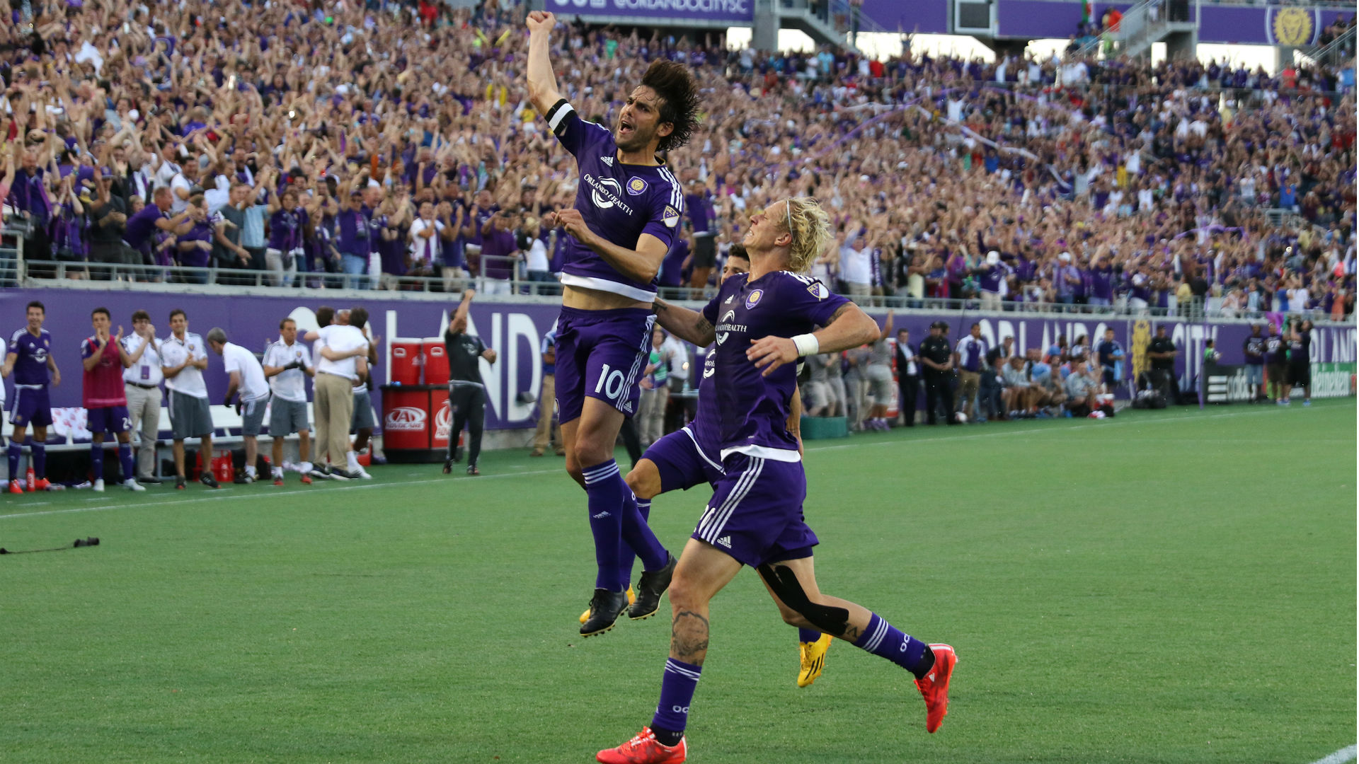 Orlando City midfielder Kaka