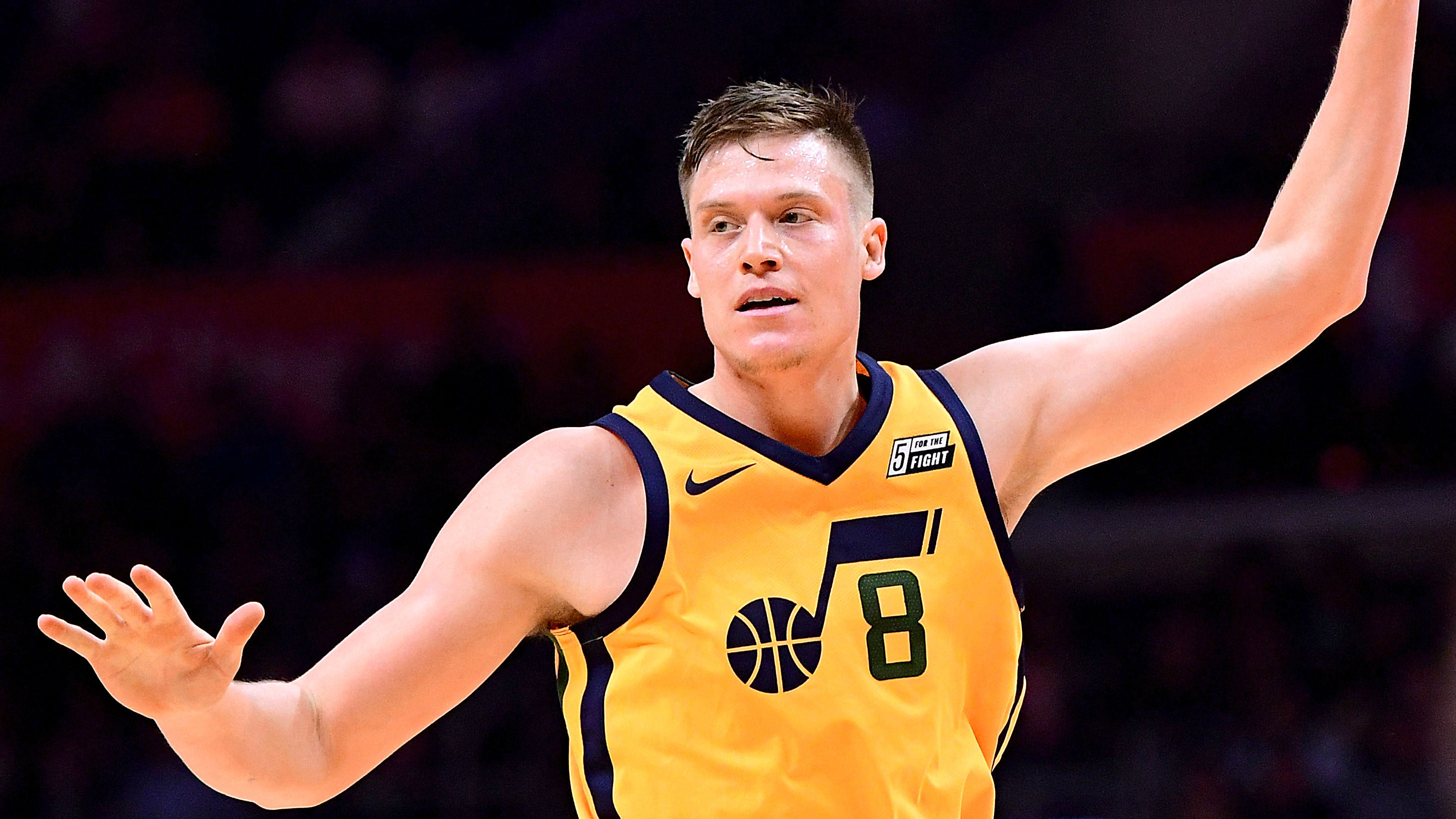Jazz waive Jerebko, who is reportedly bound for Warriors