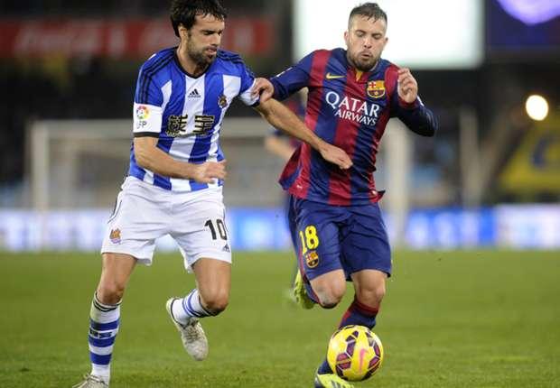 Traf früh ins eigene Tor: Jordi Alba (r.)