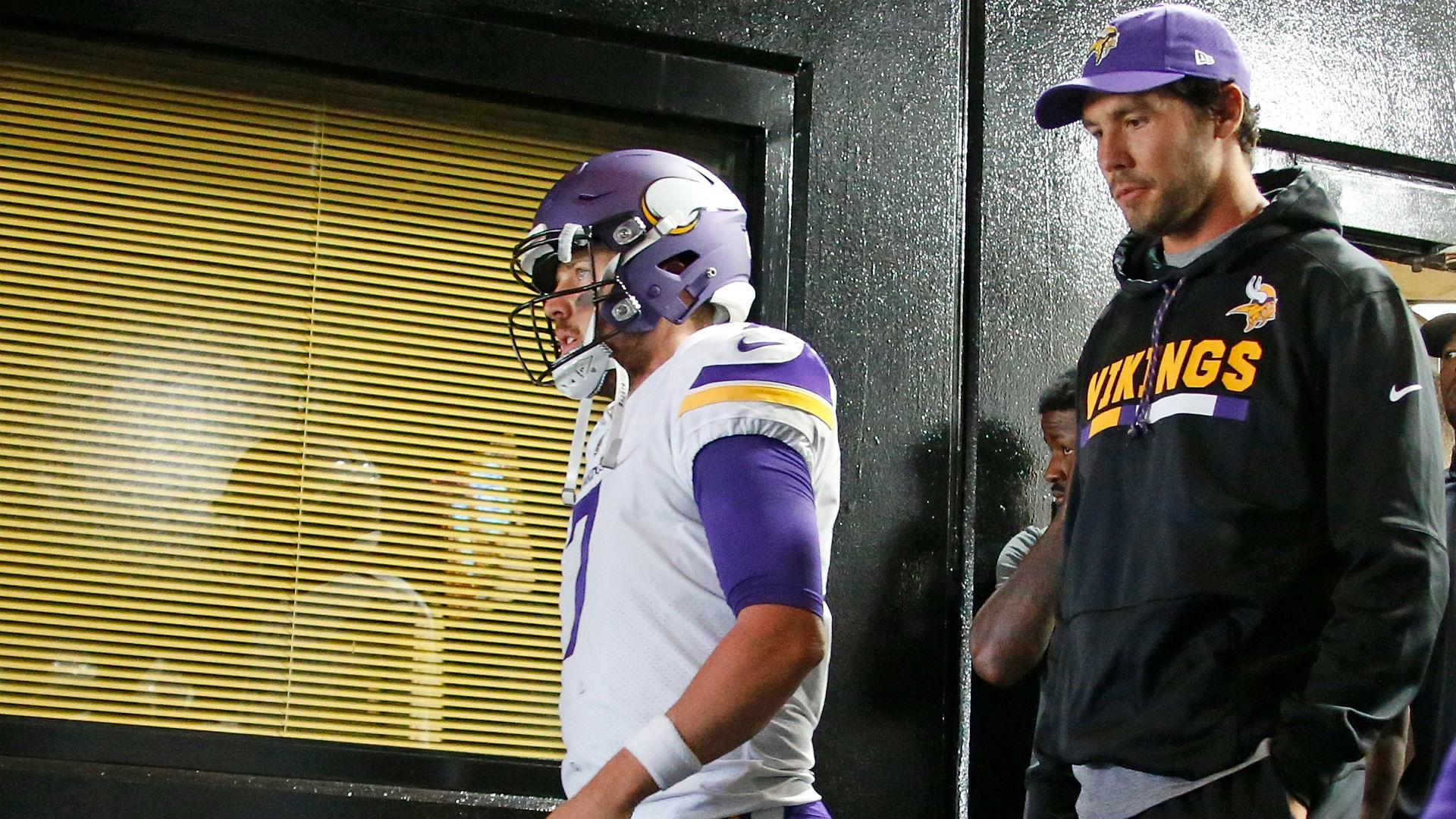 Sam Bradford injury update: Vikings QB won't play against Bucs