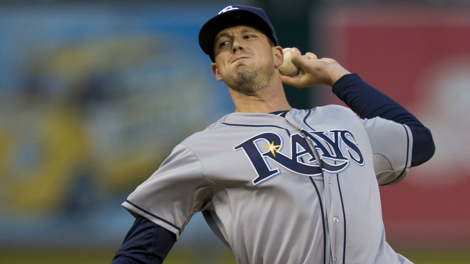 Rays pitcher Drew Smyly