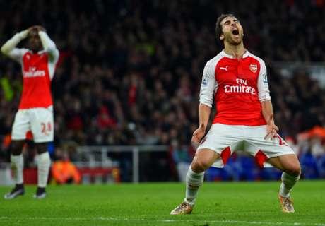 Ranieri: Pressure on Arsenal