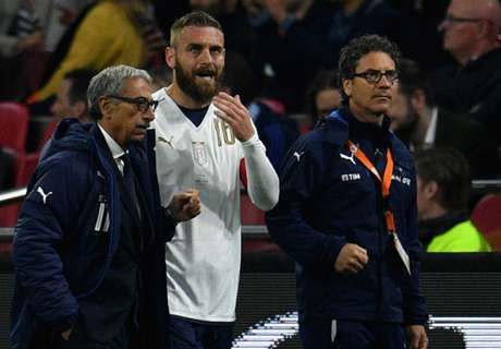 De Rossi a doubt for Roma clashes