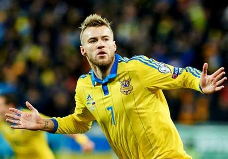 Ukraine 2-0 Slovenia: Yarmolenko shines