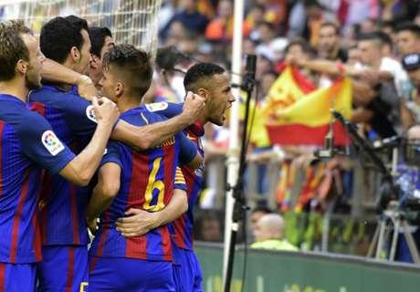 Parejo takes aim at Neymar