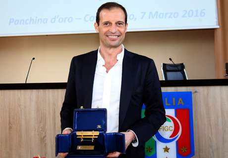 Allegri scoops top coaching prize