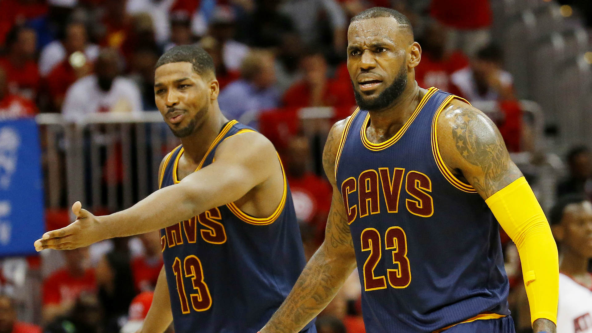 LeBron says Tristan Thompson should be a career Cavalier