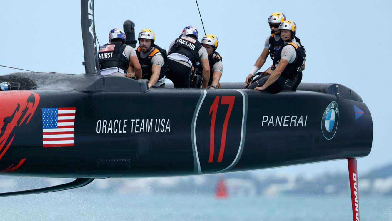 Historic day for Spithill as Oracle get up and running in America's Cup