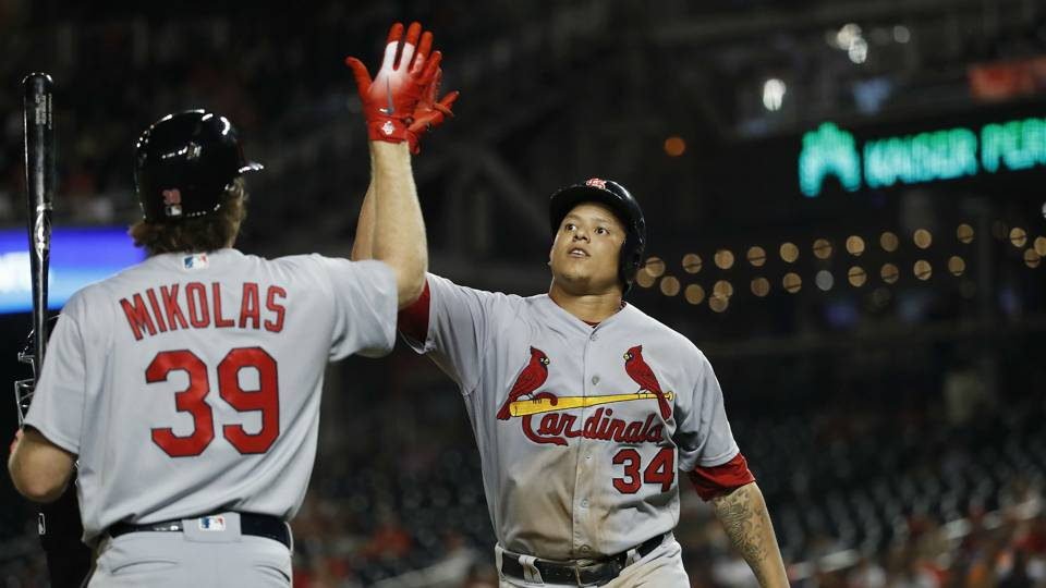 MLB wrap: Cardinals outlast Nationals' late rally
