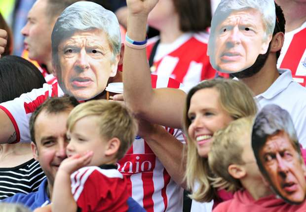 Wenger: Stoke fans hate me more than Tottenham do!