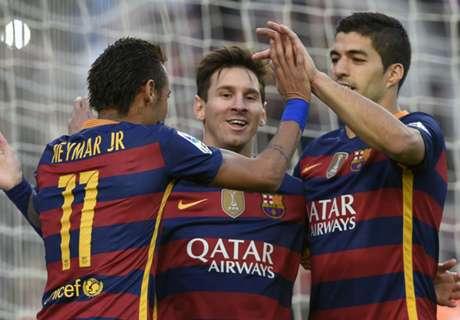 Suarez feared Messi, Neymar differences