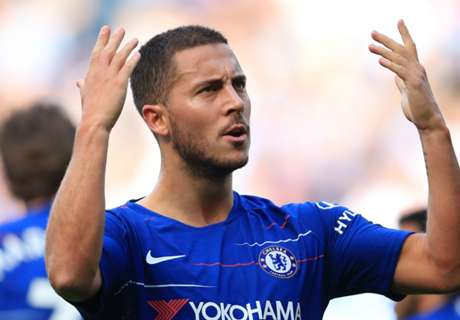Hazard left out of Chelsea squad for Europa League