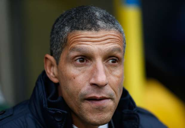 Hughton backs referee over Brown red card