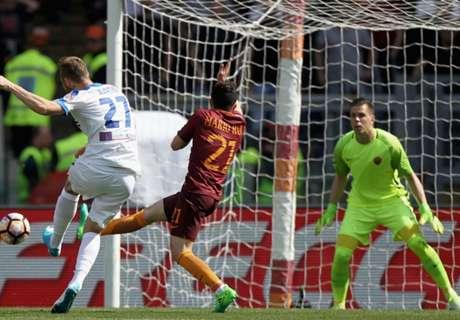 Giallorossi held despite Dzeko goal