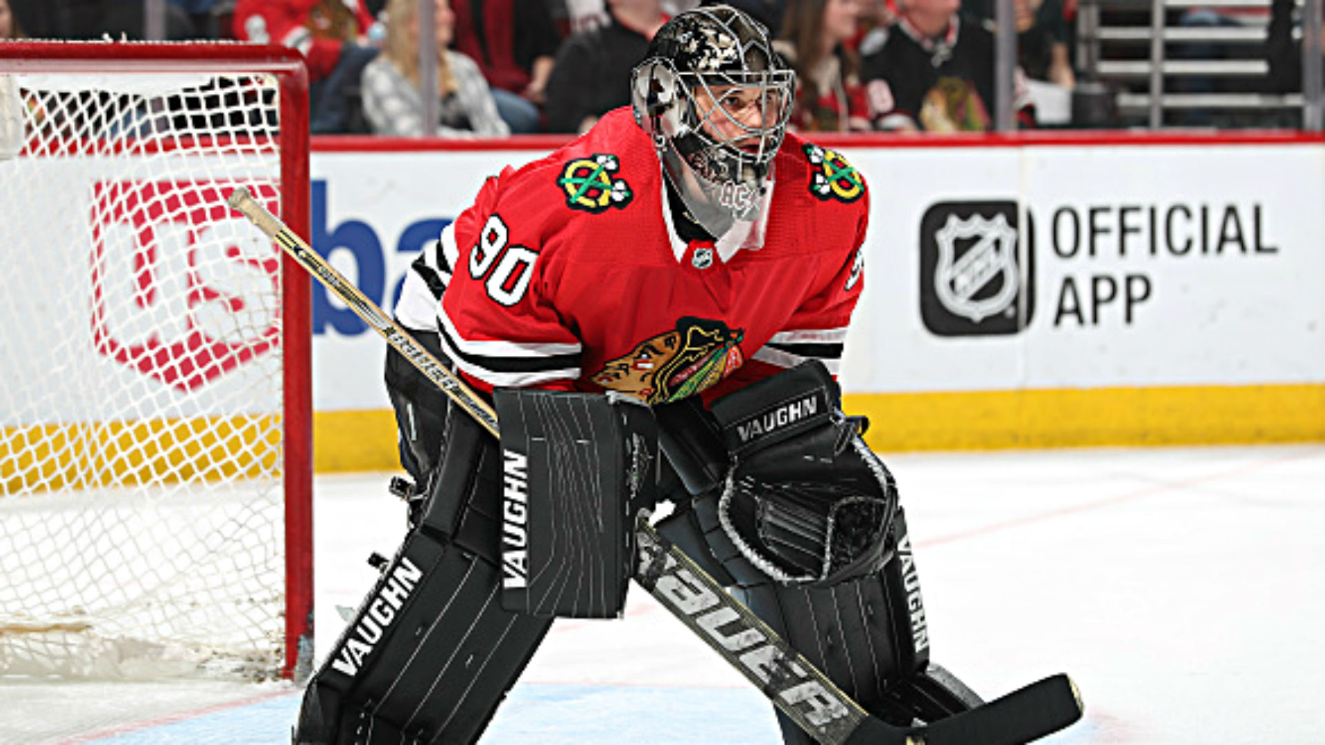 NHL surprise: 36-year-old accountant plays goalie in Chicago Blackhawks win