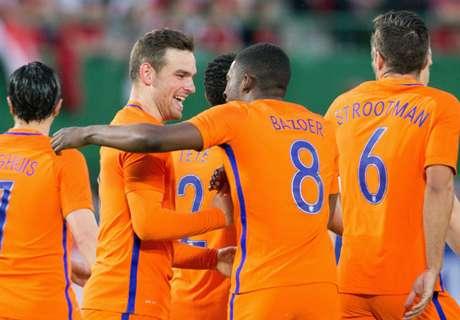Austria 0-2 Netherlands: Crowd silenced