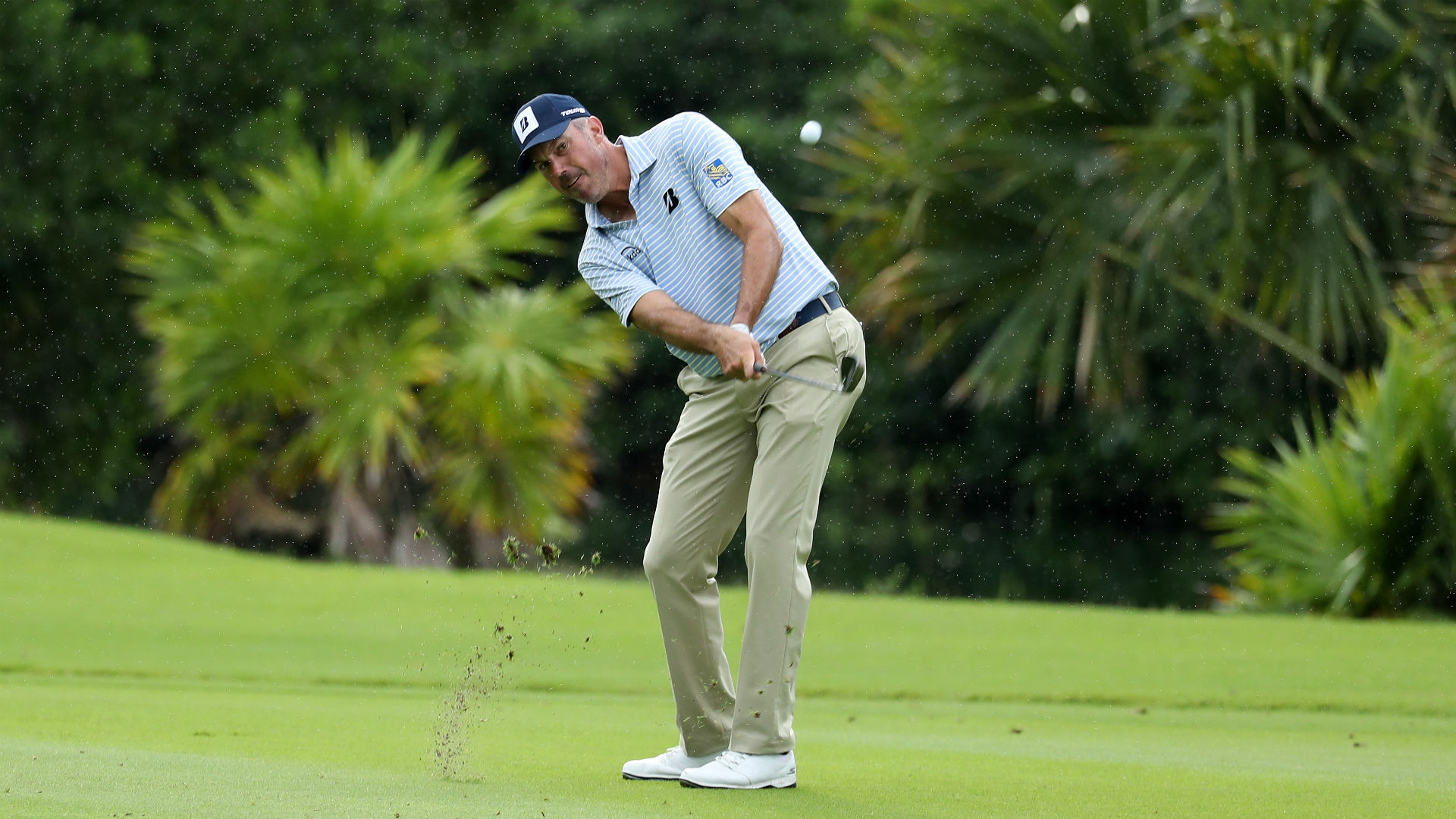 Kuchar Takes Lead Over Champ In Mexico