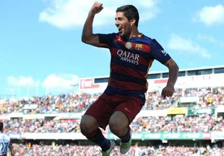 Superb Suarez scoring like peak Messi