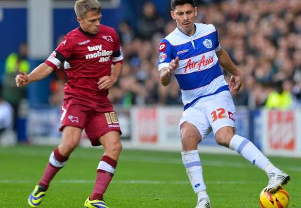 QPR midfielder Alejandro Faurlin
