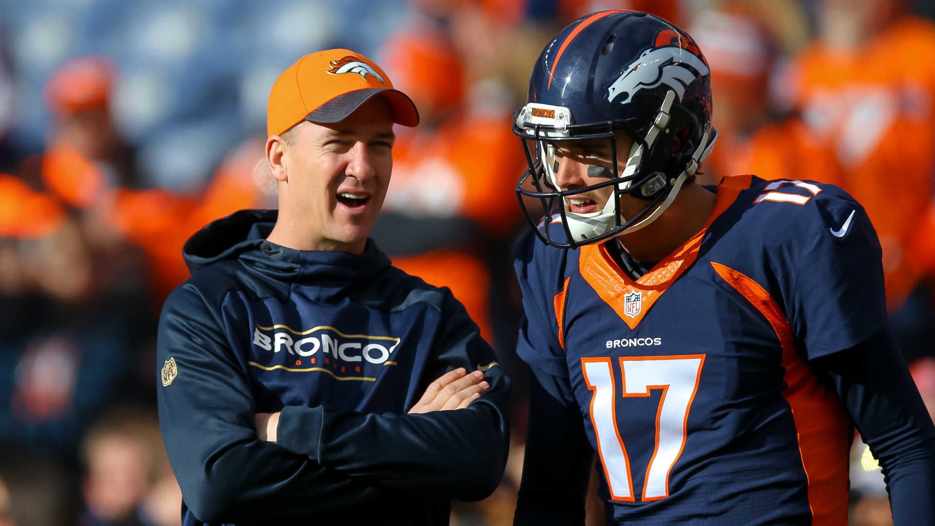 Peyton Manning and Brock Osweiler